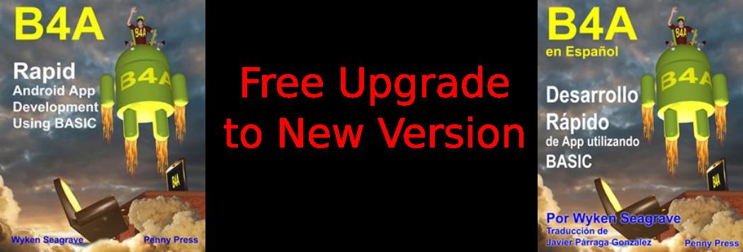 Upgrade B4A Book Free